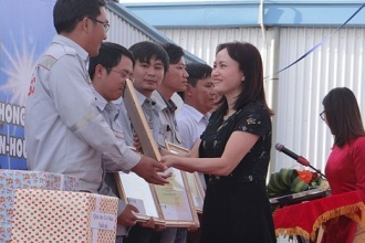 Tổng công ty PTSC tổ chức Lễ công bố 1 triệu giờ an toàn và tổng kết thi đua tại dự án NH3/NPK Phú Mỹ